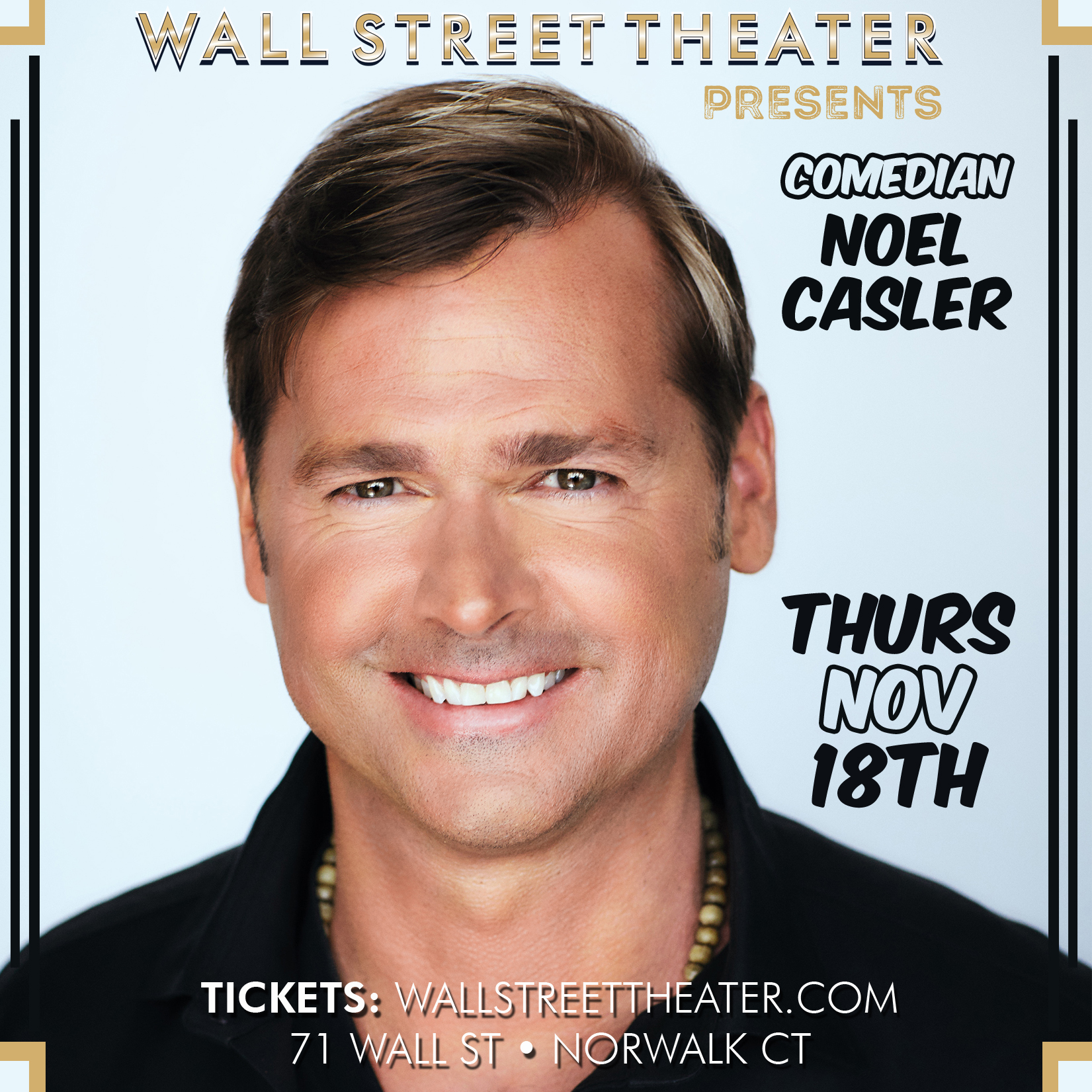 Noel Casler at Wall Street Theater